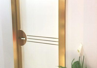 Kröning real metal foils for door frames