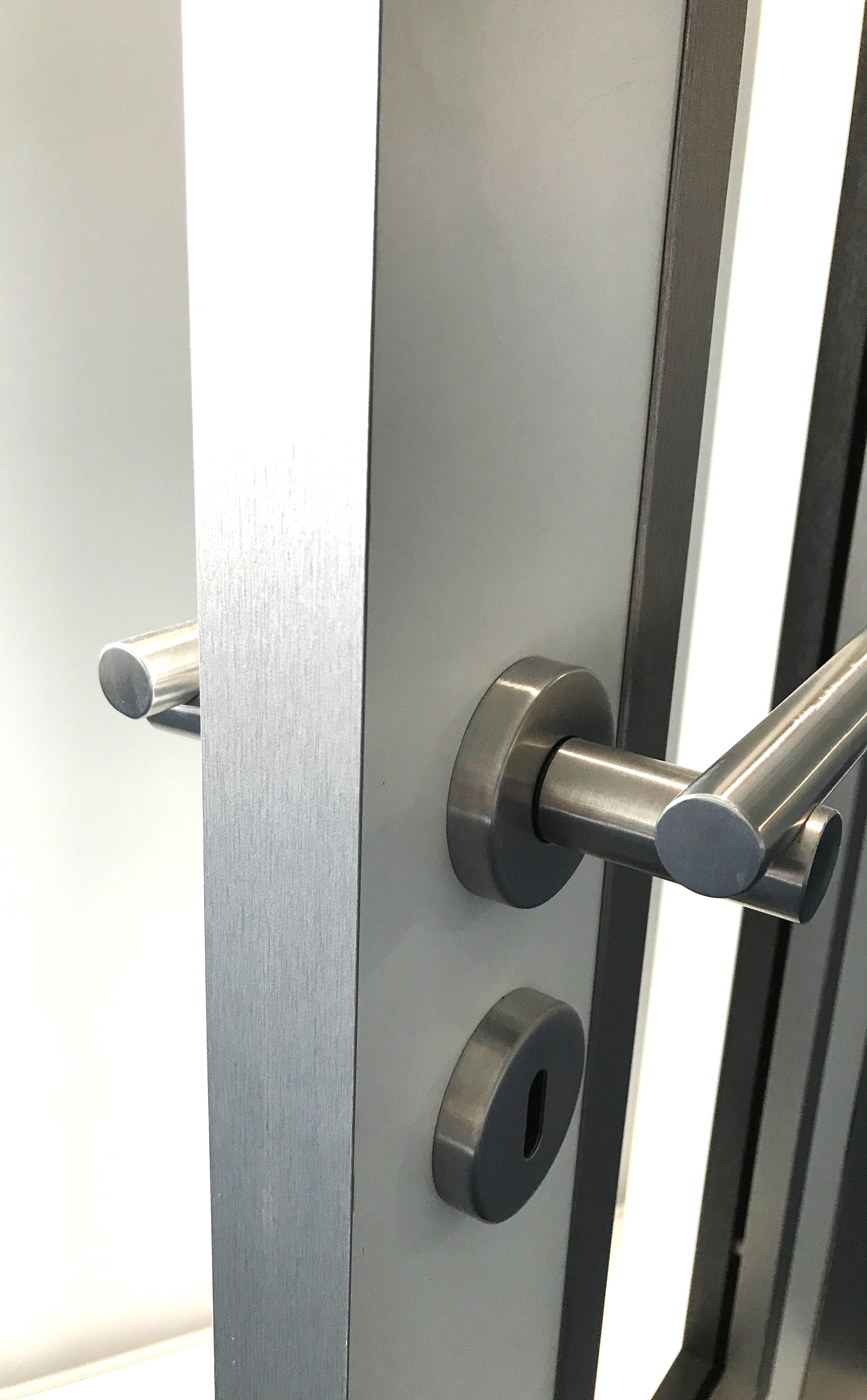 Kröning Echtmetallkanten für Zimmertüren