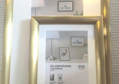 Kröning real metal foils for picture frames