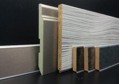 Kröning Echtmetall Folien für Sockelleisten