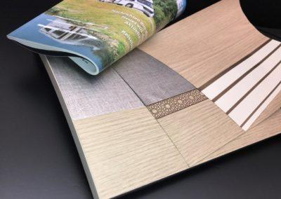Kröning real metal foils article 62479, 62480, 62478 caravan furniture flaps