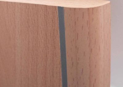 Kröning designer edges soft edges