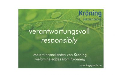 Melamine edging & sustainability