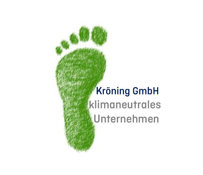 Kröning GmbH klimaneutrales Unternehmen